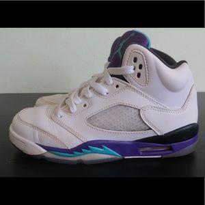 """Nike Air Jordan 5 """"Grape"""""""